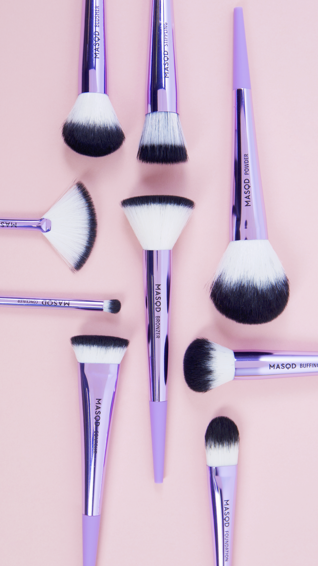 MASQD The Finishing Set Makeup Brushes at Boots Simple