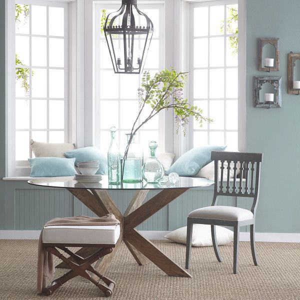 Modern X Base Dining Table Dining Room Table Living Decor Dining Room Small