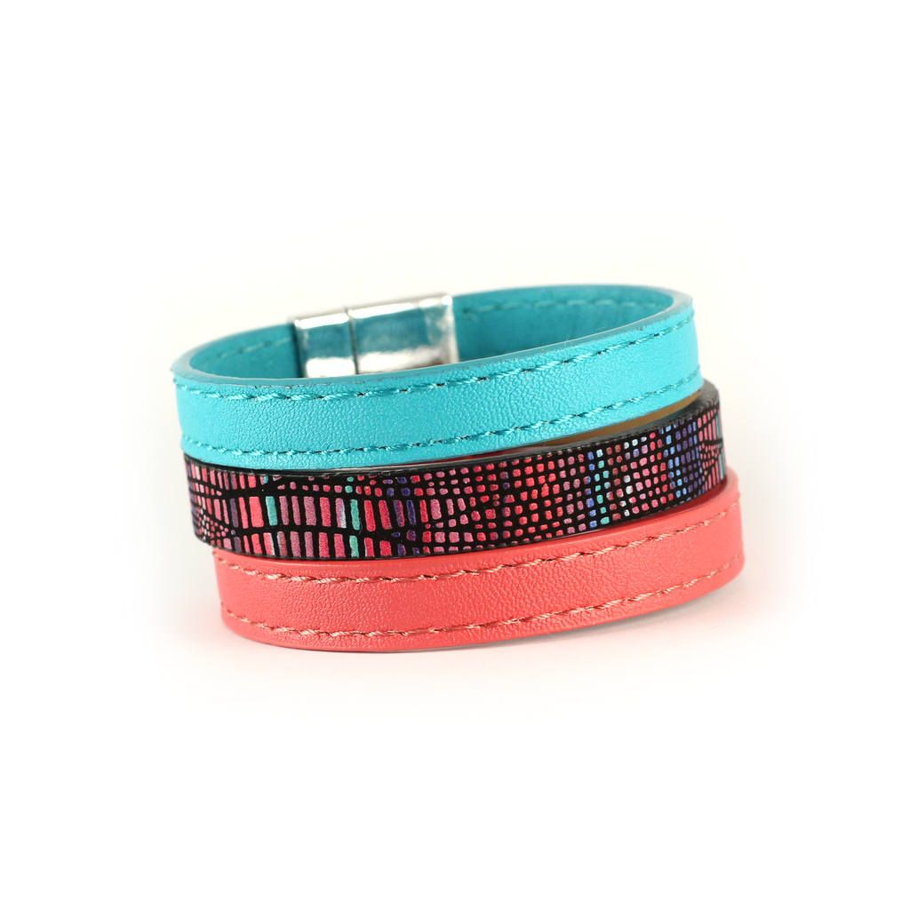 disco colors bands colorful love product bracelet beautiful bracelets abstract triangle that wrist everyone