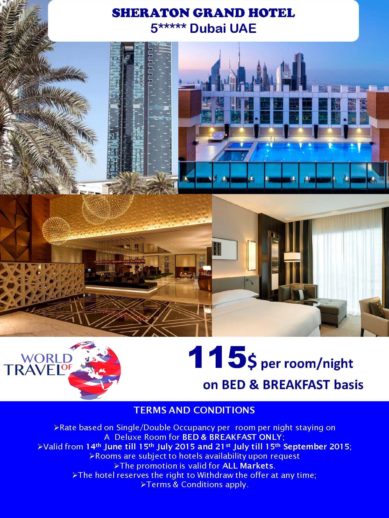 Mydubai Summerholidays Sheraton Luxurylife Dubai Uae Hotel Specials Grand Hotel Hotel
