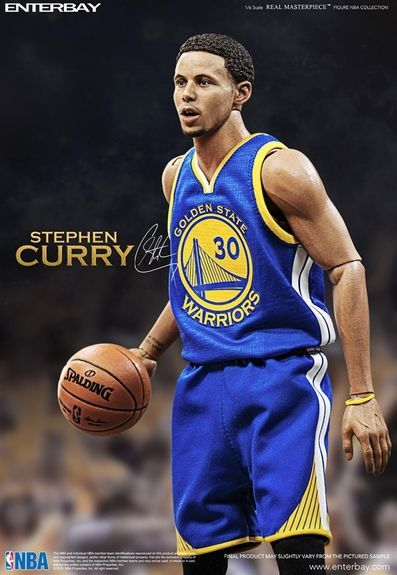 f40100791313 Enterbay NBA Stephen Curry 1 6 Scale Real Masterpiece Action Figure ...