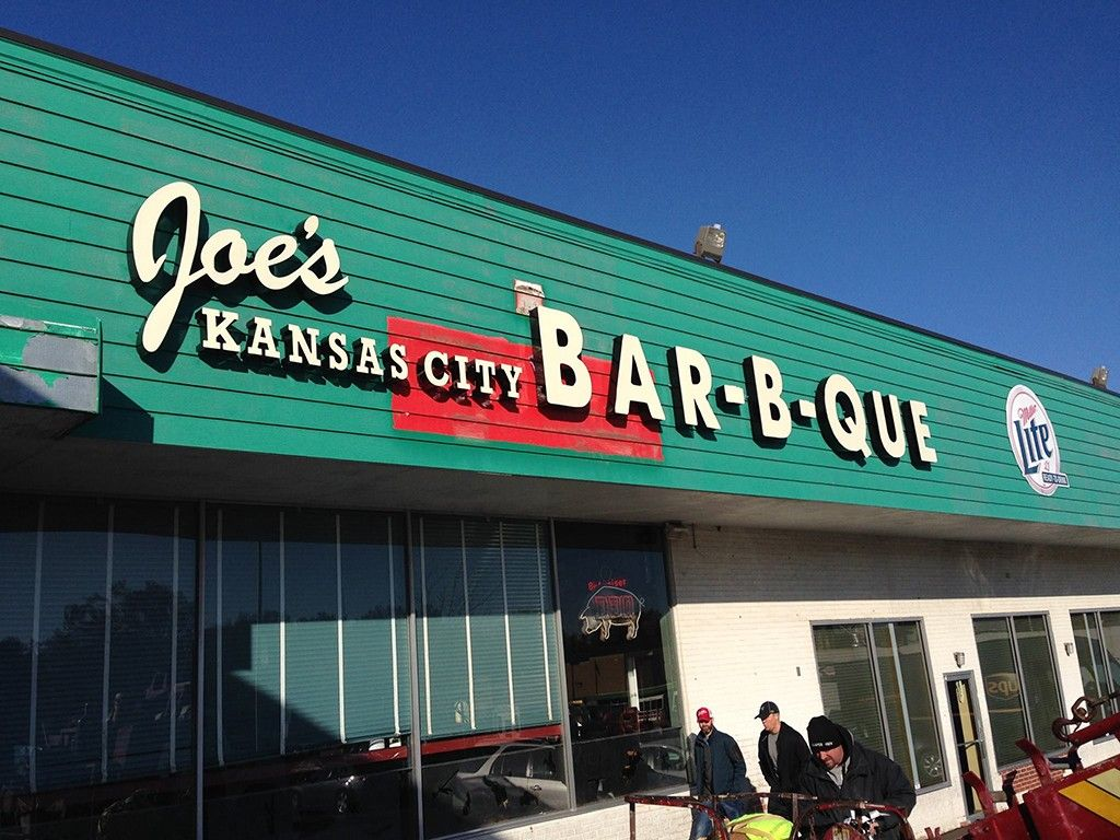 Joe S Kansas City Barbecue 3002 W 47th St Ks Voted Best Bbq Joint In America