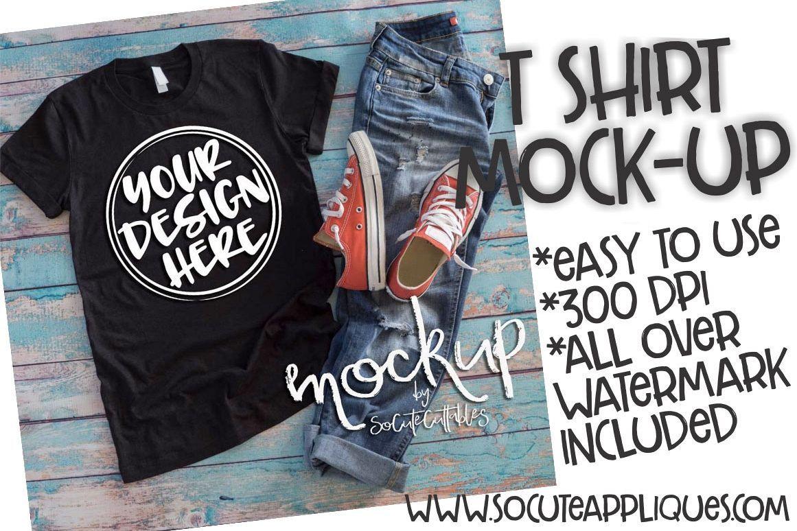Download Black T Shirt Mock Up 6513 84416 Mock Ups Design Bundles Mockup Free Psd Mockup Psd Mockup Template