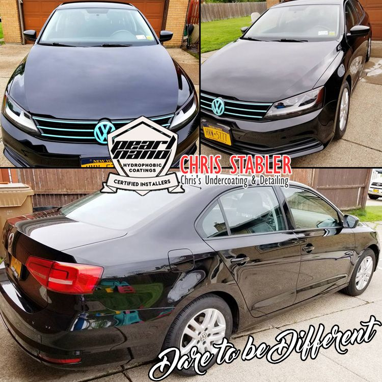This 2015 Vw Jetta Got The Complete Pearl Nano Ceramic Coating Package Pearl Nano By Chris S Undercoating Detailing Yo Ceramic Coating Hydrophobic Ceramics