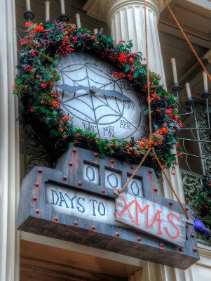 Static NBC/Haunted Mansion Countdown Clock (With images