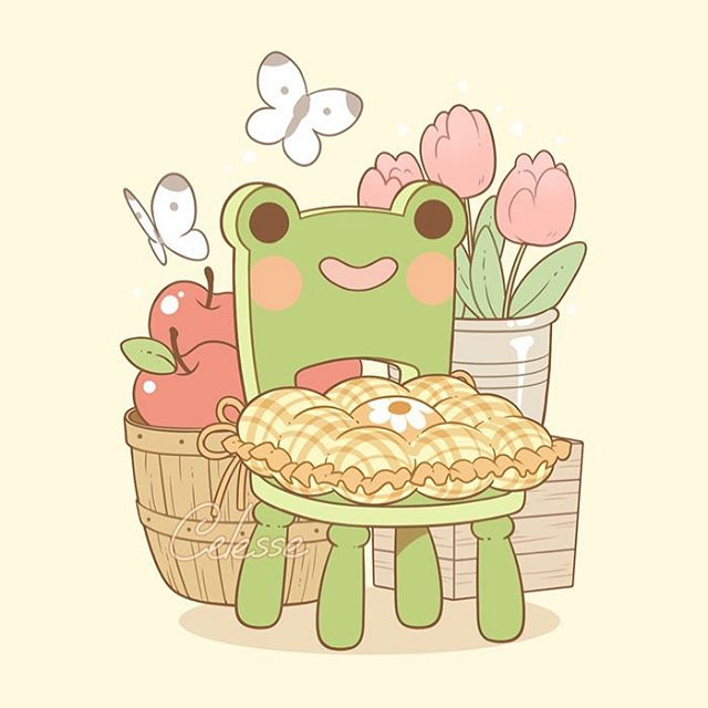 Celesse sur Instagram Country kitchen froggy chair