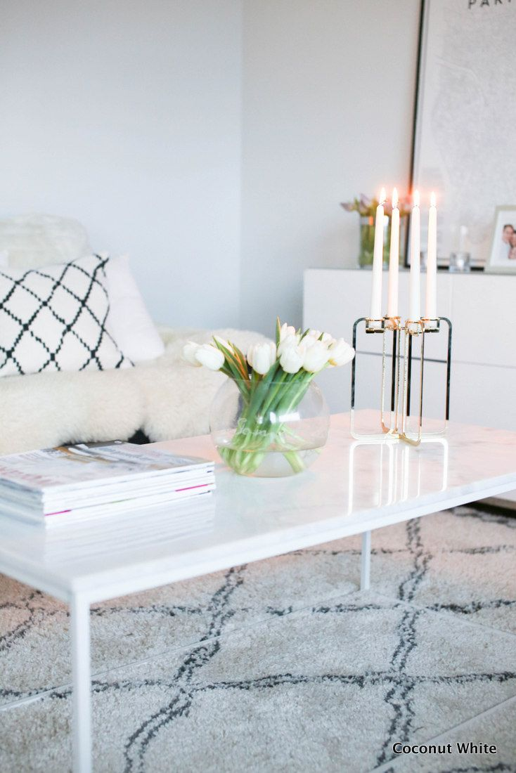 Be&liv Quartet - modernia kultaa olohuoneessa | Coconut White