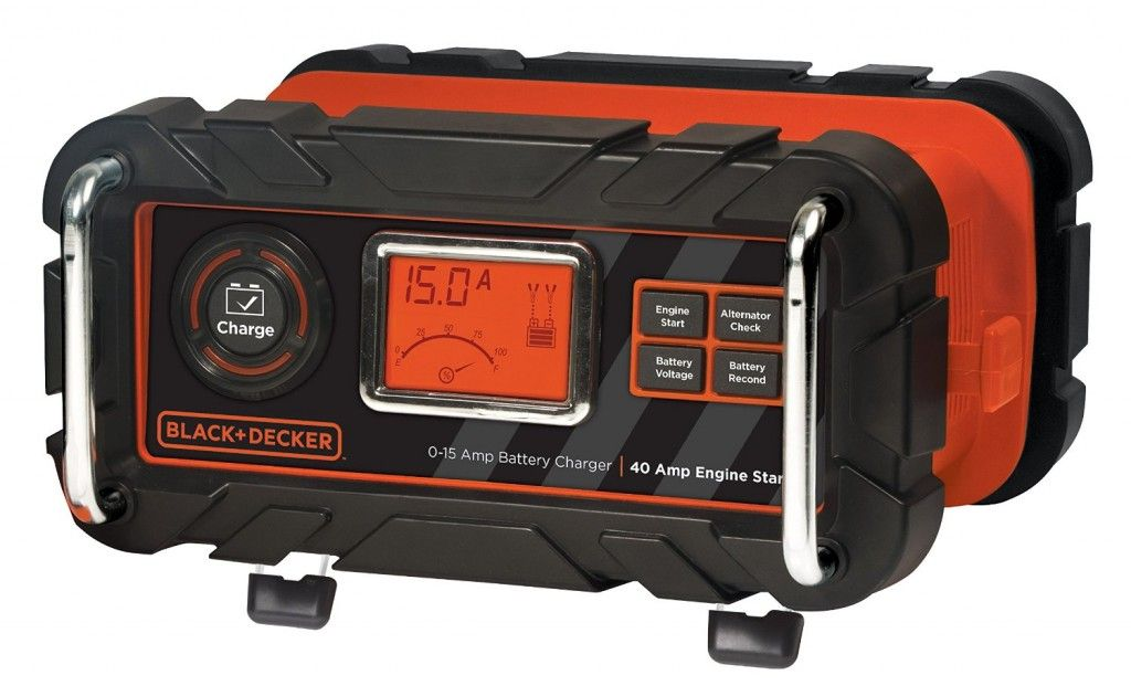 Black decker bc15bd 15 amp bench battery charger with