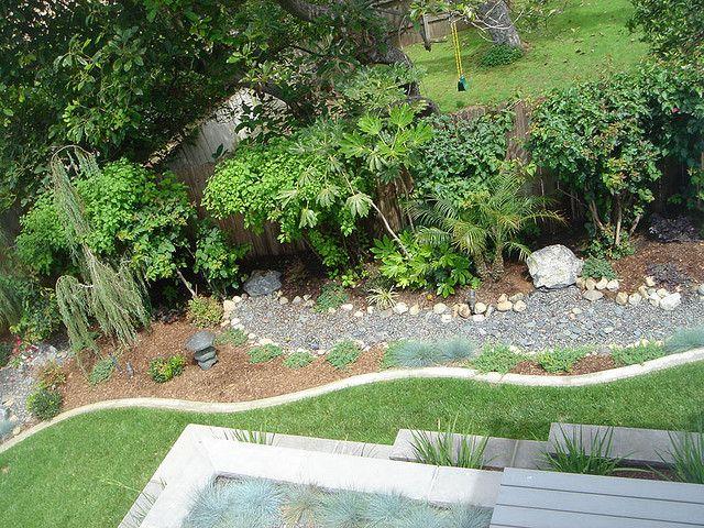 Zen Garden In Encinitas, California.