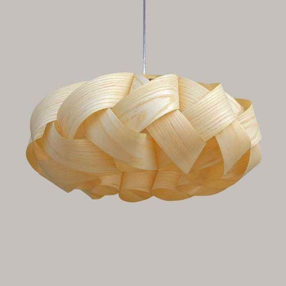 Chandelier Lighting Ceiling Light Pendant Lamp Wood