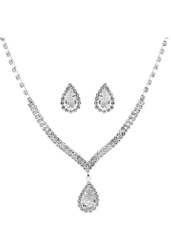 e3a833fe03c44 In Stock Winsome Alloy & Zircon Wedding Sets With Rhinestones ...