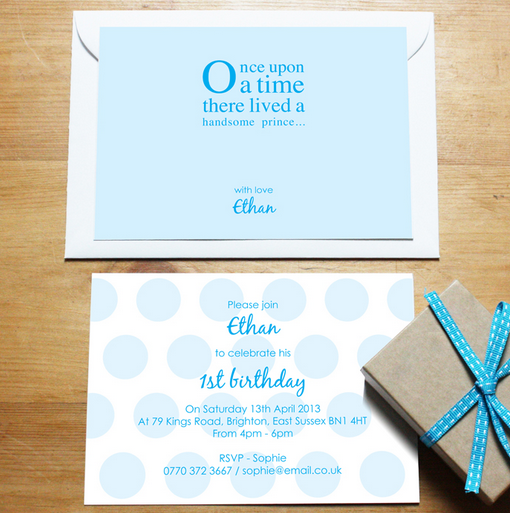 Personalised #stationery - invitations