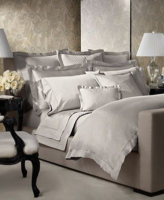 Ralph Lauren Langdon Solid Collection Bedding Collections Bed Bath Macy S Pale Silver