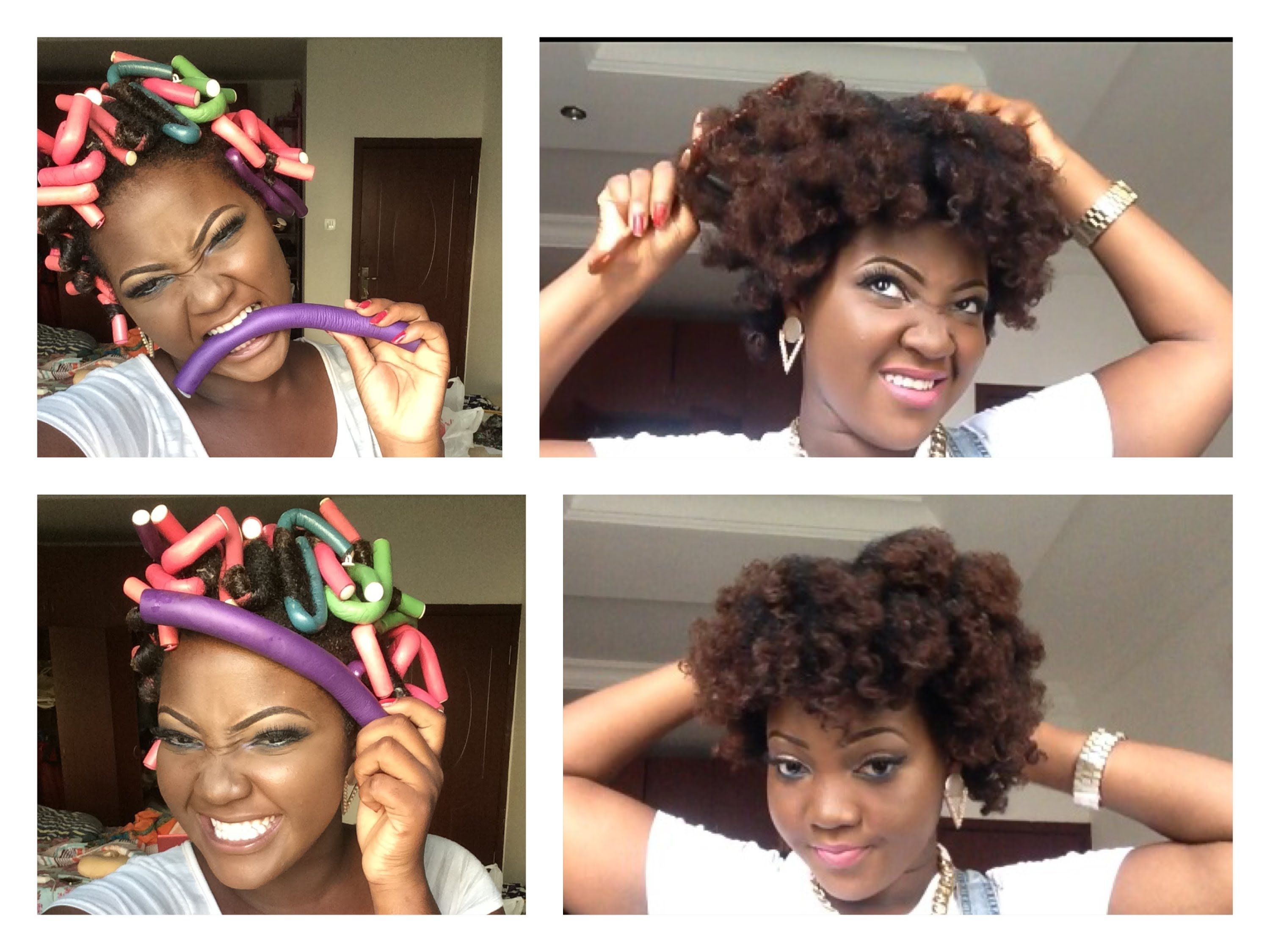 How To Use Spoolies On Black Natural Hair