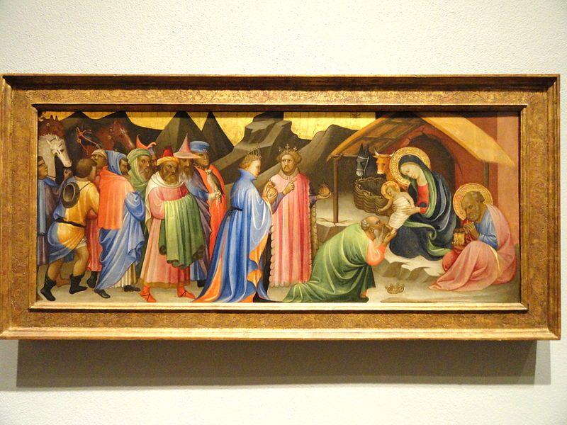 File:Adoration of the Magi, Gherardo di Jacopo Starna, called Starnina, Florence, c. 1405 - Nelson-Atkins Museum of Art - DSC08360.JPG