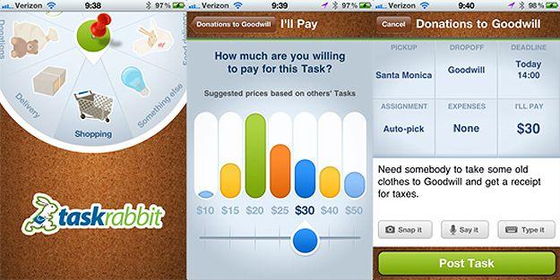 TaskRabbit #app