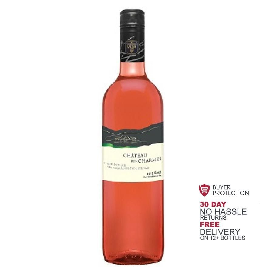 Rose Cuvee D Andree Estate Bottled Vqa By Chateau Des Charmes 2016 Bottle Wine Prices Rose Wine