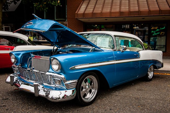 Chevy Bel Air Blue White Jpg Vehicles