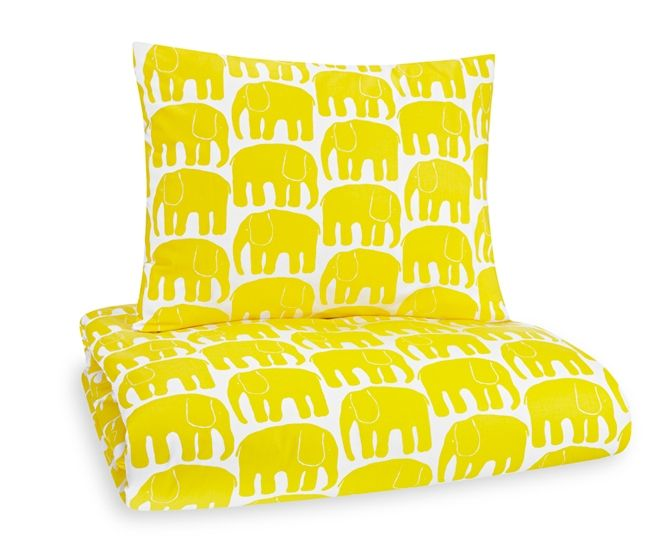Elefantti sheets from Finlayson by Laina Koskela