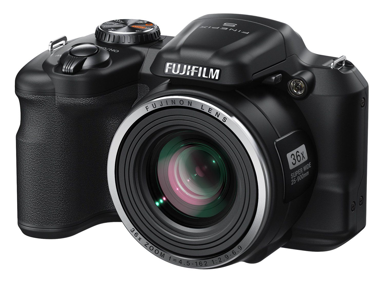 Fujifilm FinePix 16 MP Digital Camera with 3.0-Inch LCD Black
