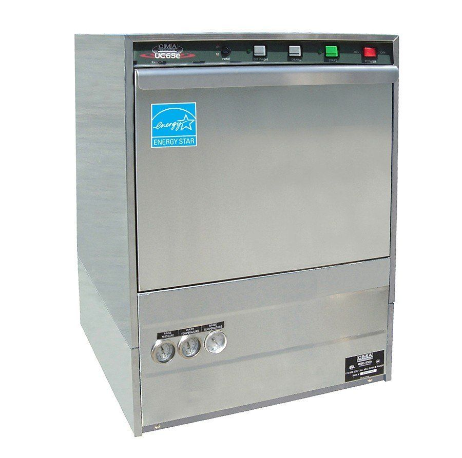 CMA Dishmachines UC65E High Temperature Undercounter