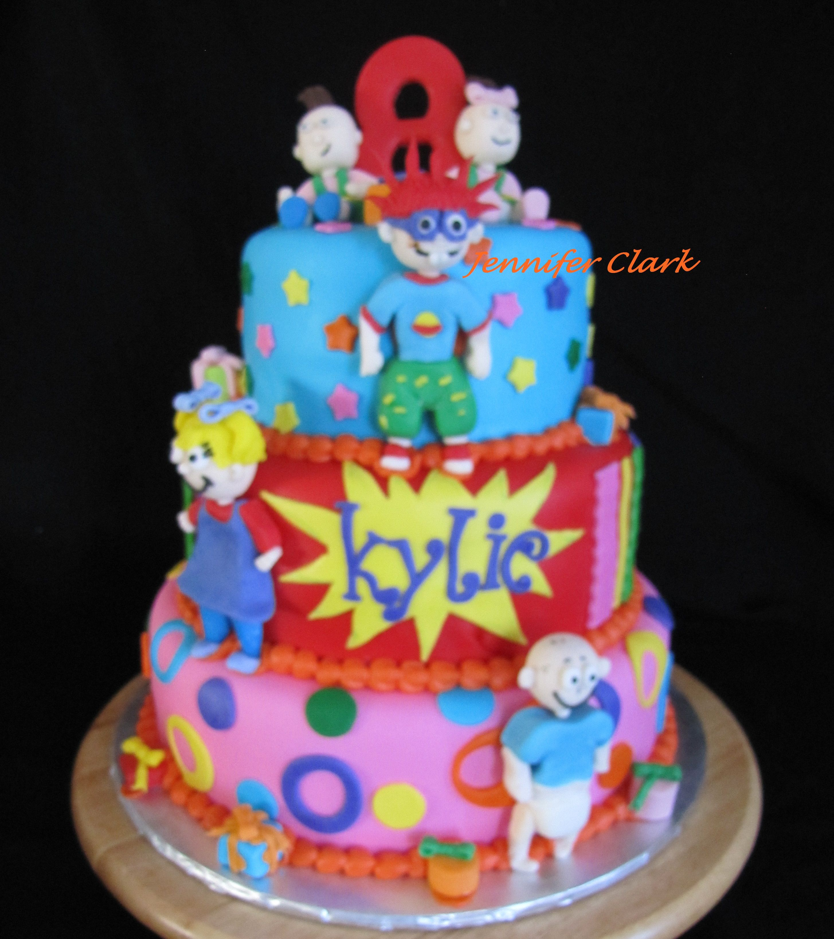 Rugrats Cake Hand Sculpted Figures Baby Things And More