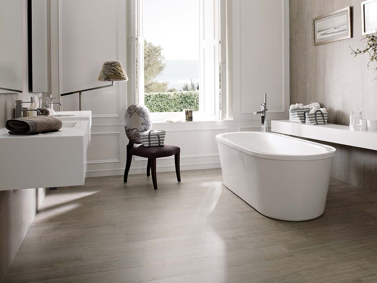 Ceramic parquet is currently a highly valued option when - Suelos baratos interior ...