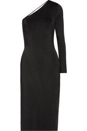 Cushnie Et Ochs Woman Cutout Metallic Stretch-knit Midi Dress Black Size XL Cushnie et Ochs 4xEUO