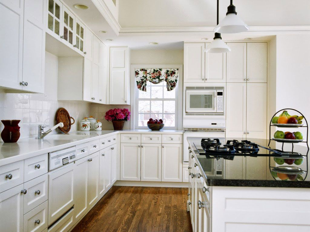 kitchen paint colors with white cabinets - Google Search | Kitchen ...