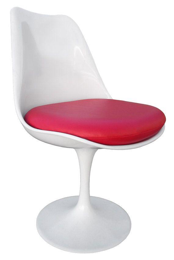 Vinyl Replacement Cushion For Saarinen Or Burke Tulip Side Chair