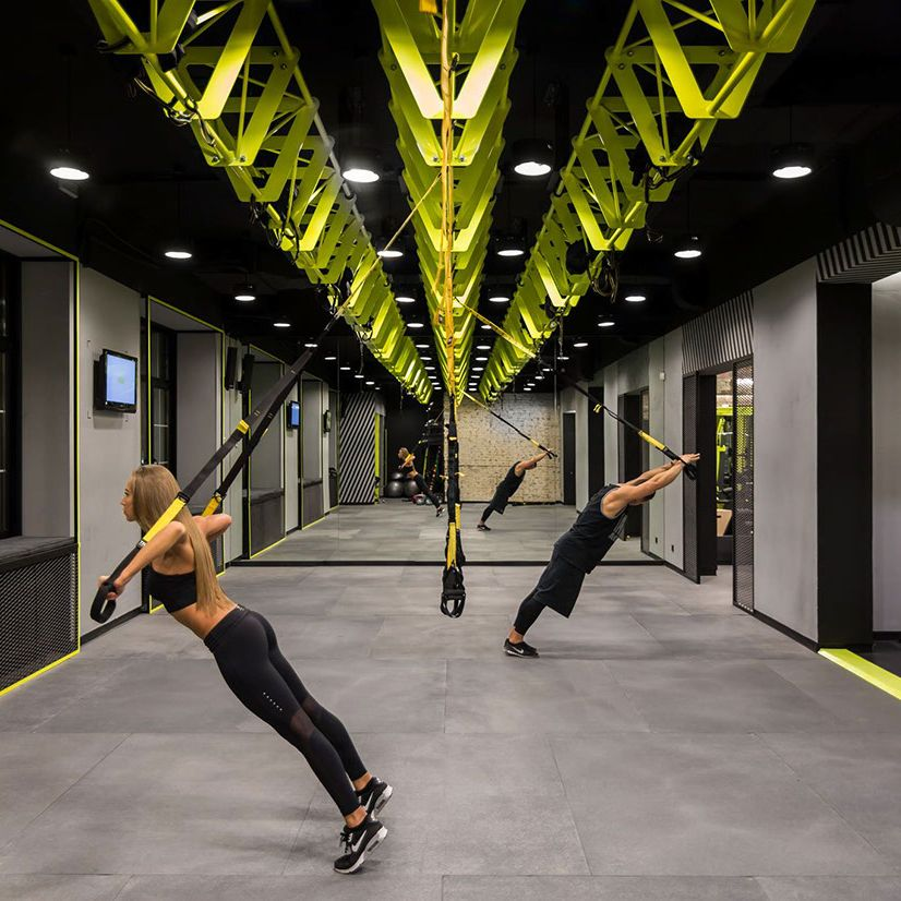 Small High Impact Decor Ideas: Gym-spiration: Soesthetic Group Creates High-impact Gym In