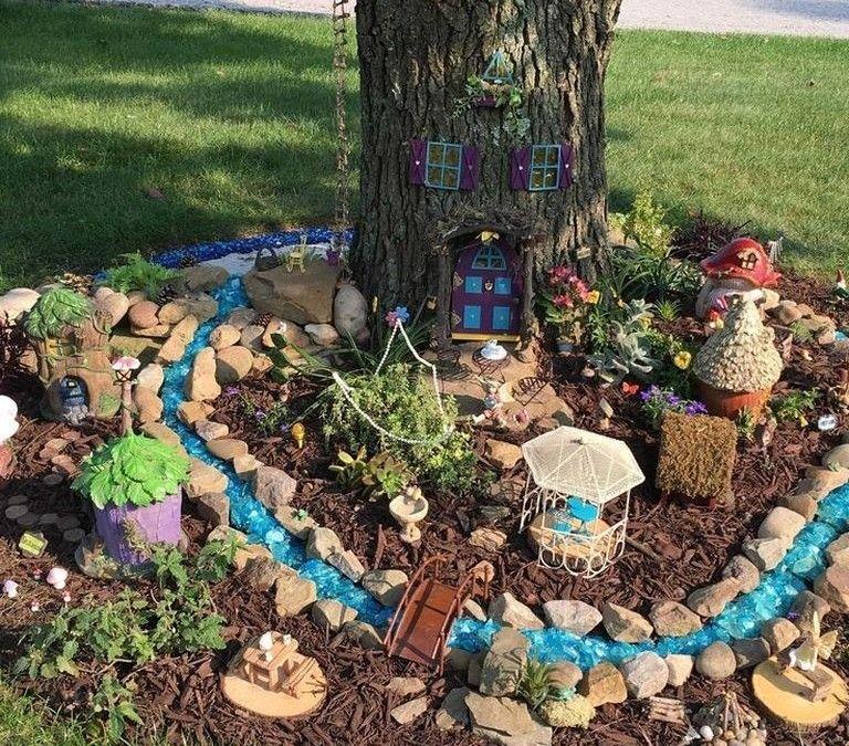 40 Magical Fairy Garden Idea Just For You Rengusuk Com Miniature Fairy Gardens Fairy Garden Natural Garden