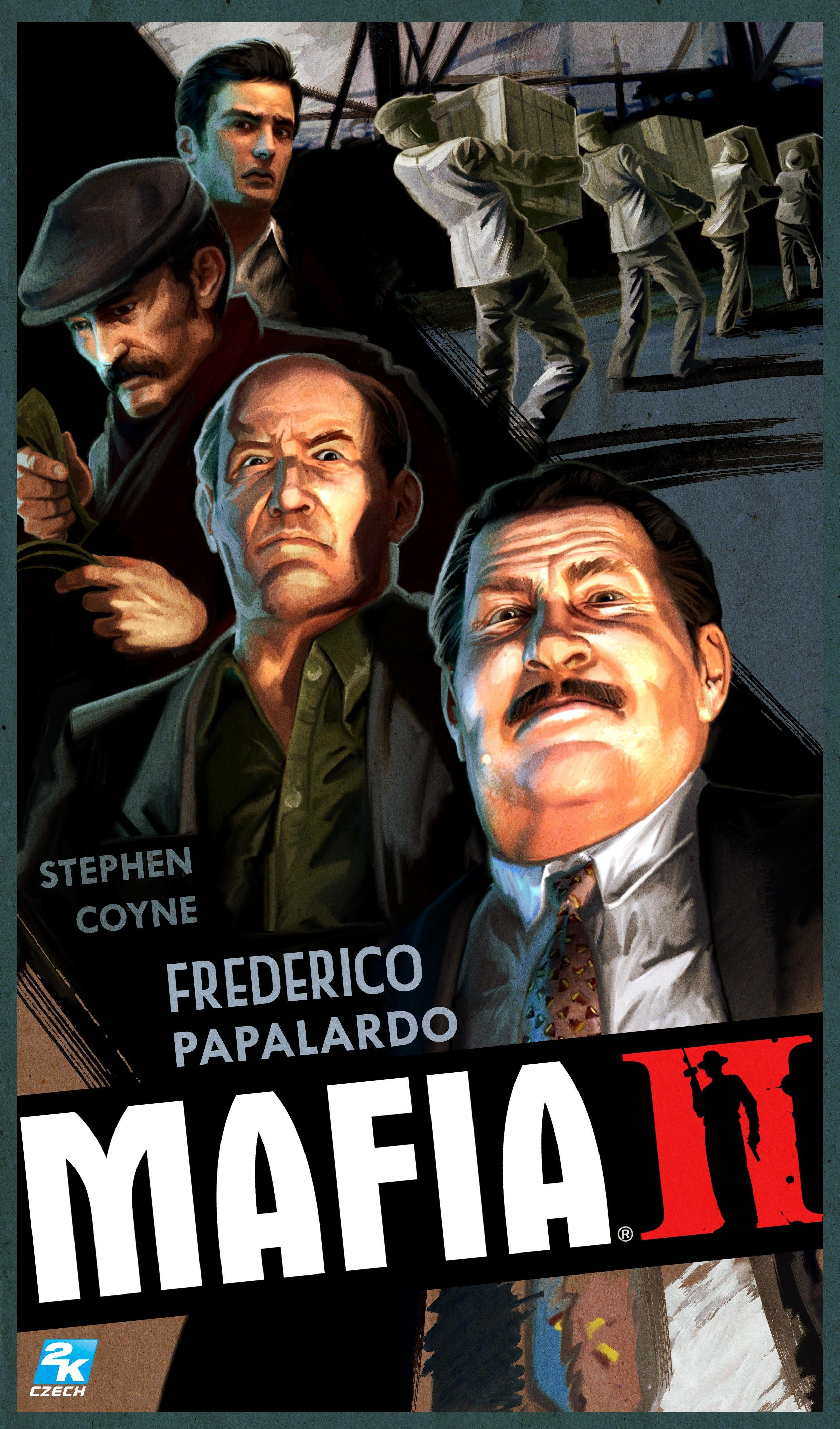 Poster from Mafia II   Mafia Posters   Mafia game, Mafia 2, Mafia
