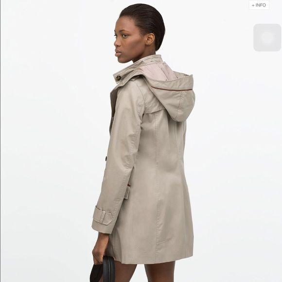 جيليك Ladies Trench Coat Zara, Trench Coat Zara Woman