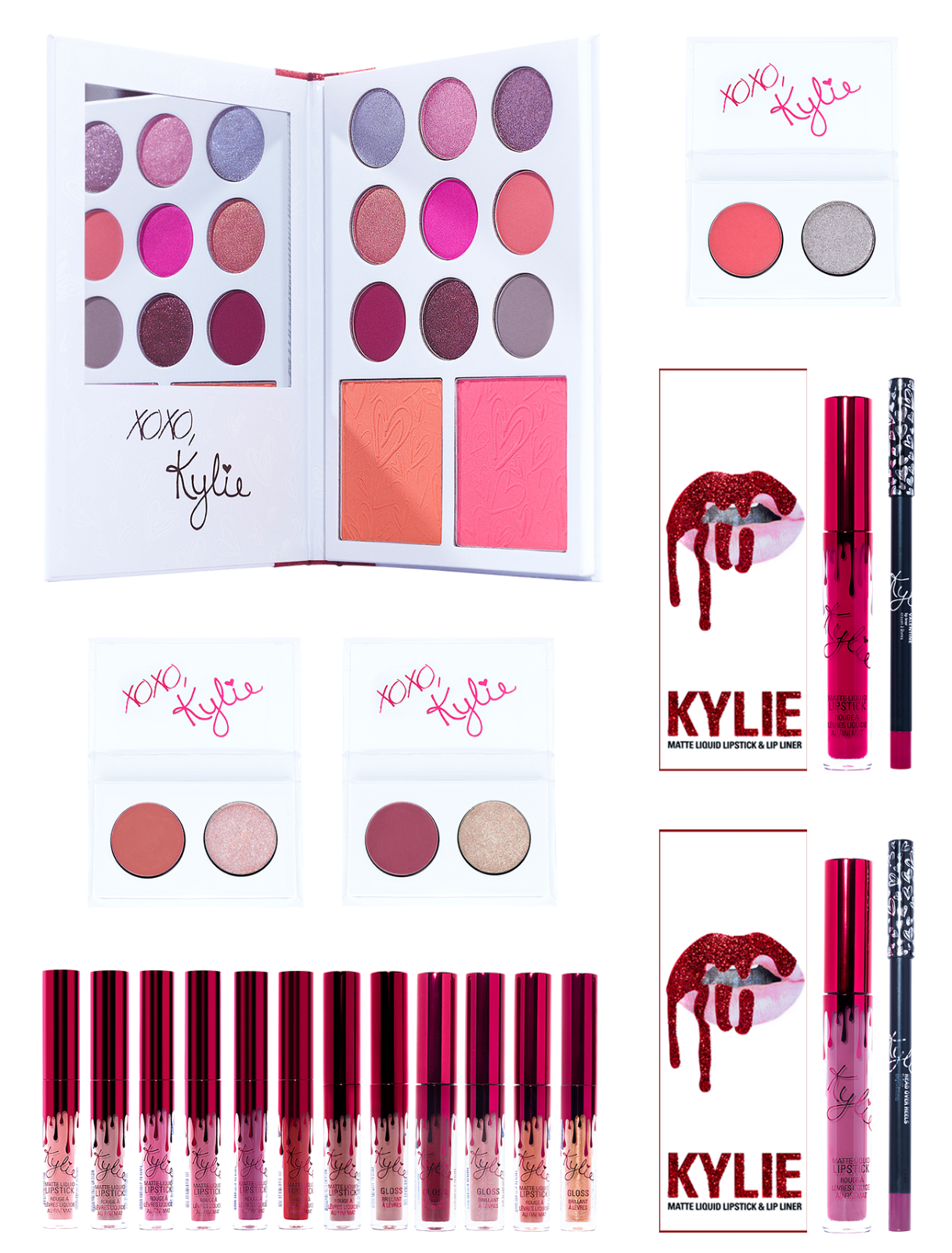 Kylie Cosmetics Valentines Day Limited Edition Collection Mini Kit