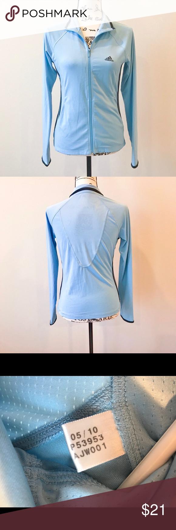 Adidas Women S Track Jacket Blue Adidas Women Track Jackets Clothes Design [ 1740 x 580 Pixel ]