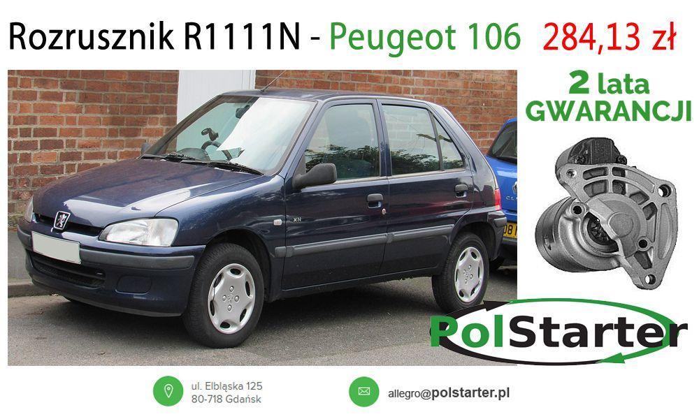 Jestes Posiadaczem Samochodu Marki Peugeot Rozrusznik R1111n Dostepny Juz Teraz W Promocyjnej Cenie Alternatory Peugeot106 Rozrusznik Now Suv Car Citroen