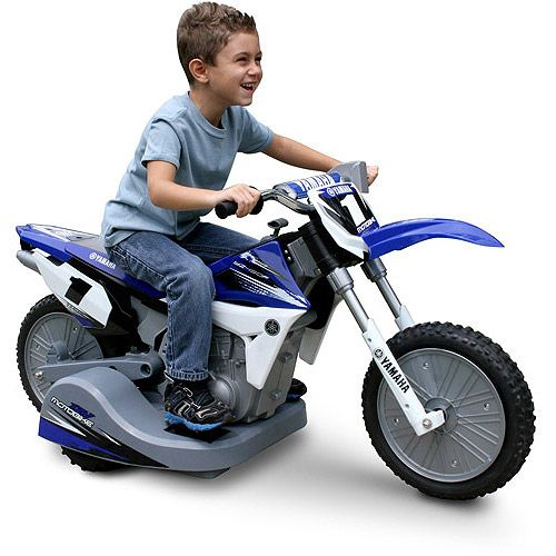Street Racer 12v Electric Kids Ride On Motorcycle: Yamaha Motorcycle 12-Volt Battery-Powered Ride-On
