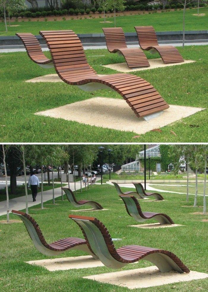 benches wavy sydney Australia   Дизайн ‼ Design   Pinterest ...