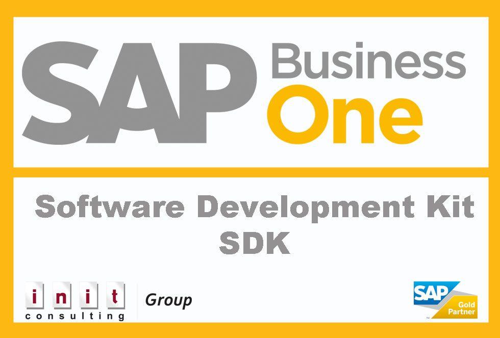 Das SAP B1 SDK ist ein Werkzeug für Entwickler, das Schnittstellen, Beispiel-Codes, Dokumentation und Entwicklungstools enthält: http://www.b1-blog.de/entwicklungswerkzeuge-in-sap-business-one/