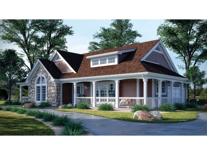 Summerset Country Home Farmhouse Style House Plans House Plans Rustic House Plans