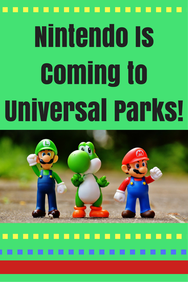 Nintendo-themed areas are coming to Universal Parks Around the World