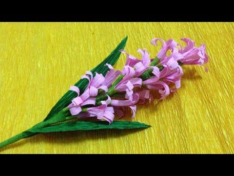 How to make lavender paper flower easy origami flowers for how to make lavender paper flower easy origami flowers for beginners making diy paper crafts youtube mightylinksfo