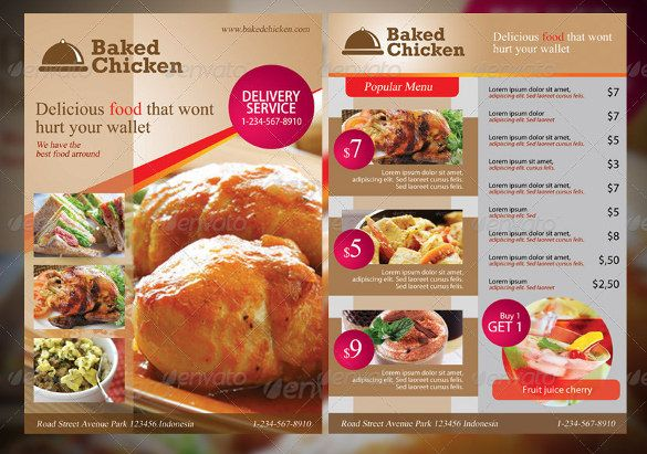 20+ Menu Design Templates u2013 Free Sample, Example Format Download - sample menu template