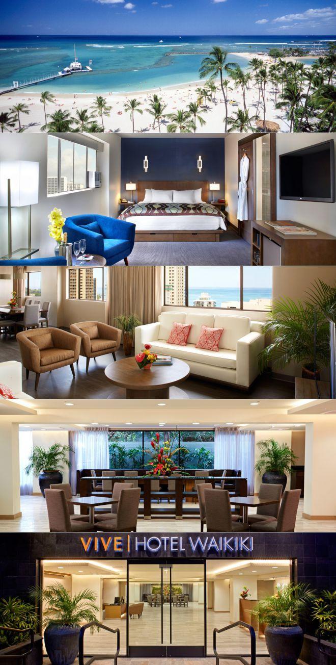 Vive Hotel Waikiki Honolulu Hawaii With Images Waikiki