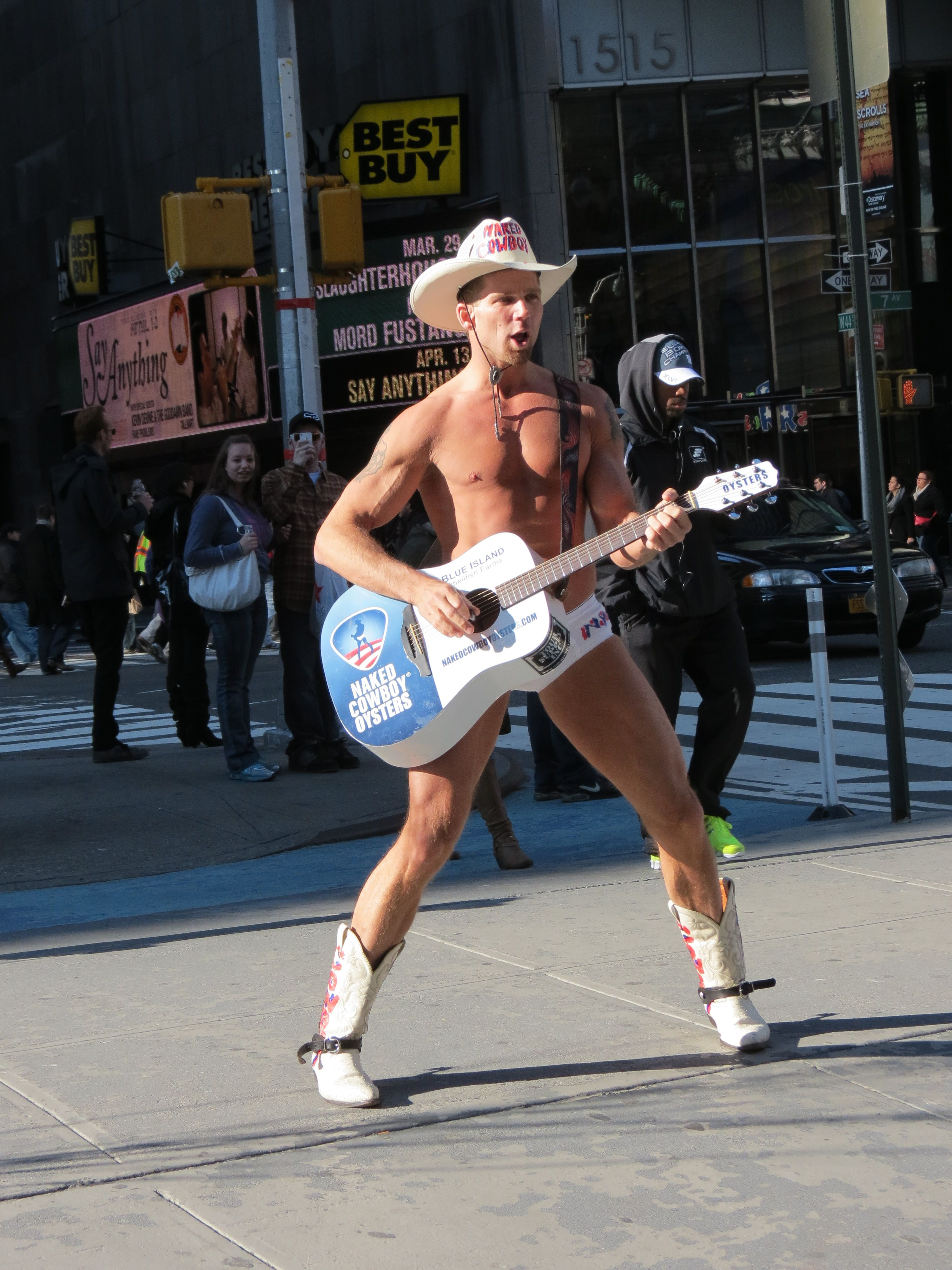 Best New York Naked Cow Boy Pic