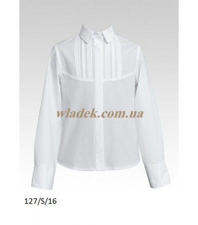 97e0c2ec8de Школьная форма Sly (Польша) - Школьная блузка Sly 127 в интернет-магазине  wladek.com.ua