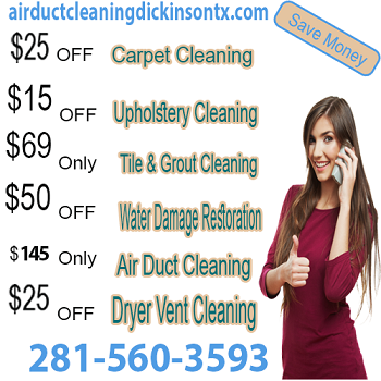 Air Duct Cleaning Dickinson Texas have safe techniques and