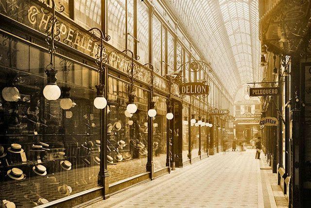 Paris Arcade 1876
