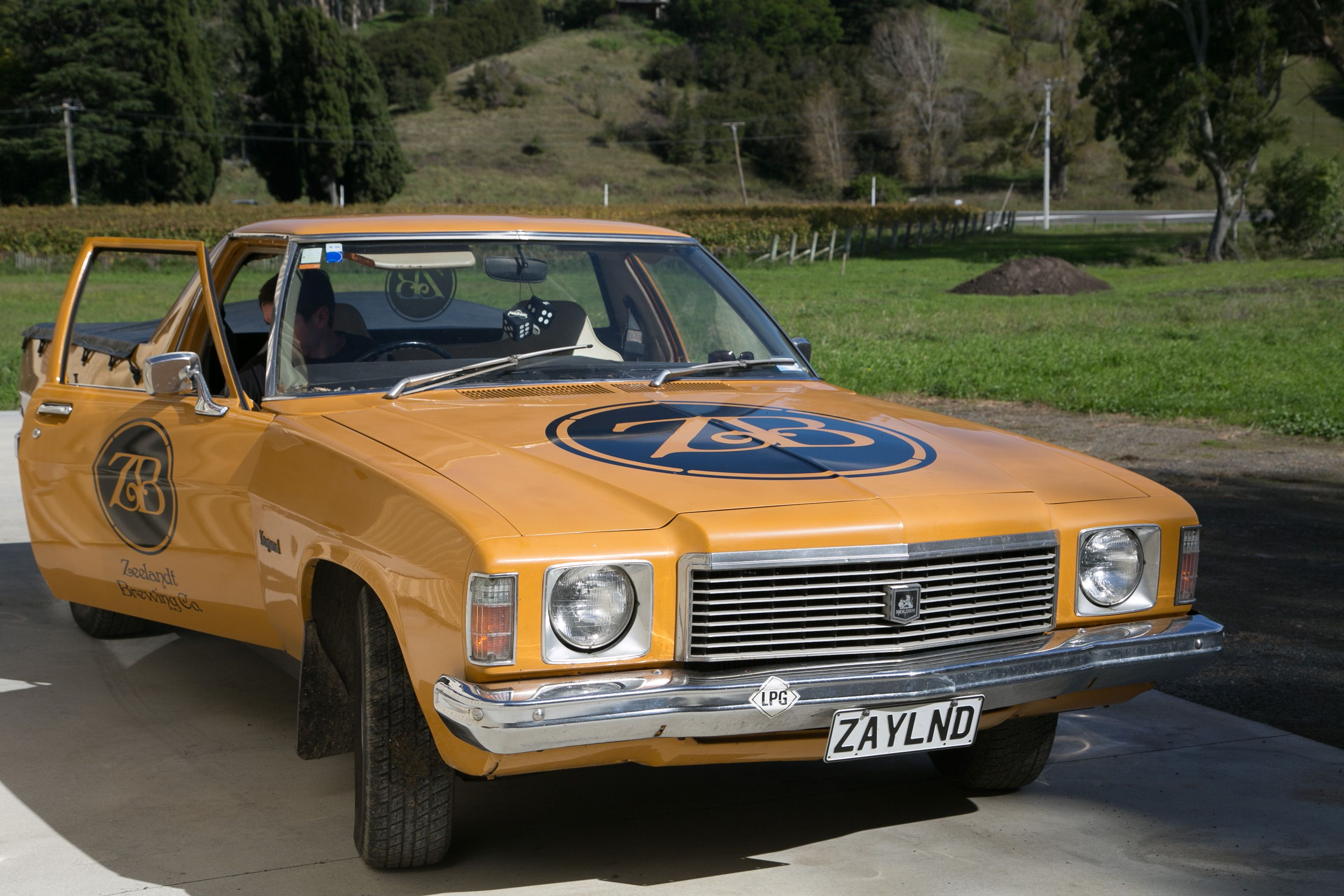 The Kingswood Is The Zeelandt Brewery Delivery Ute You May See It